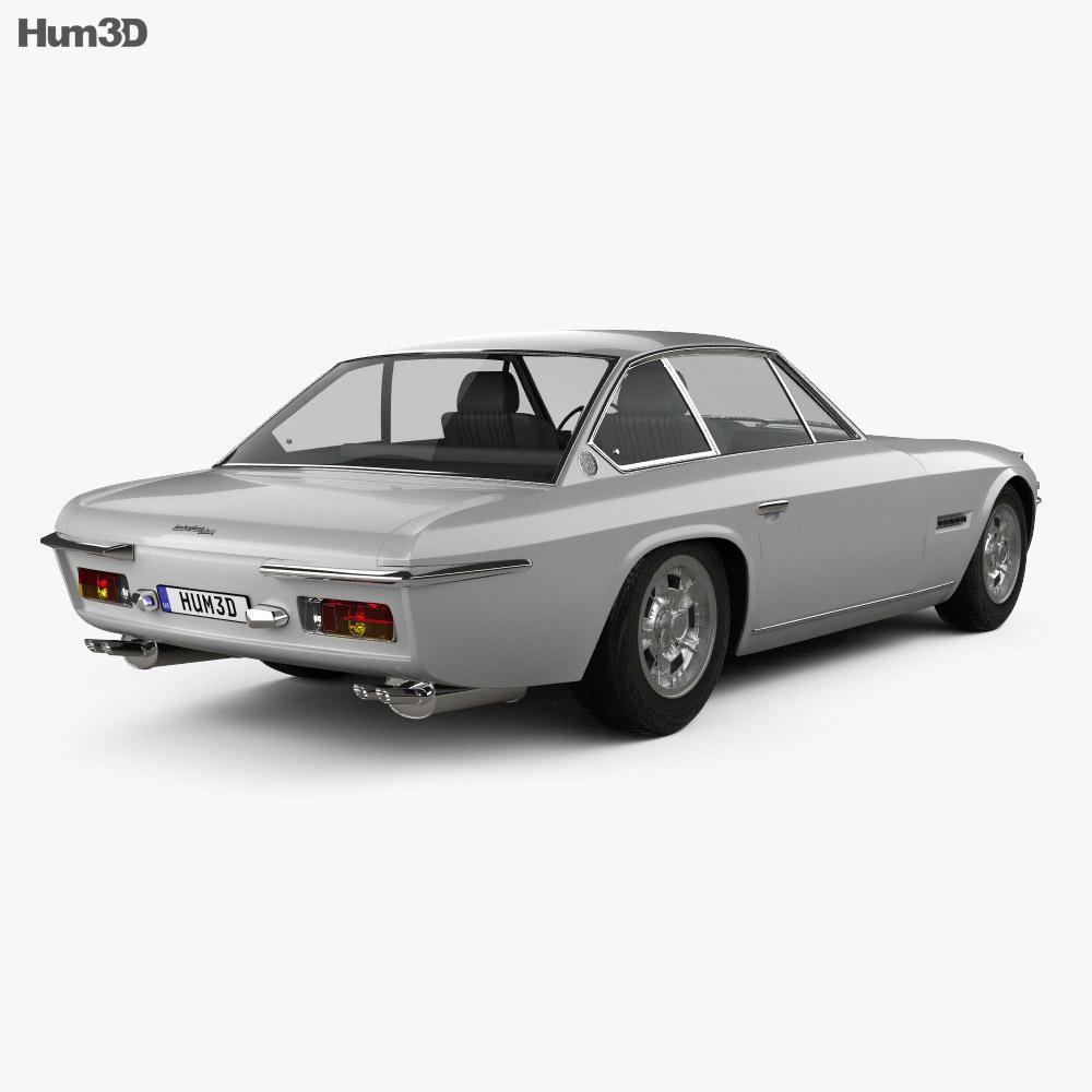 Lamborghini Islero 400 GTS 1968 3d model