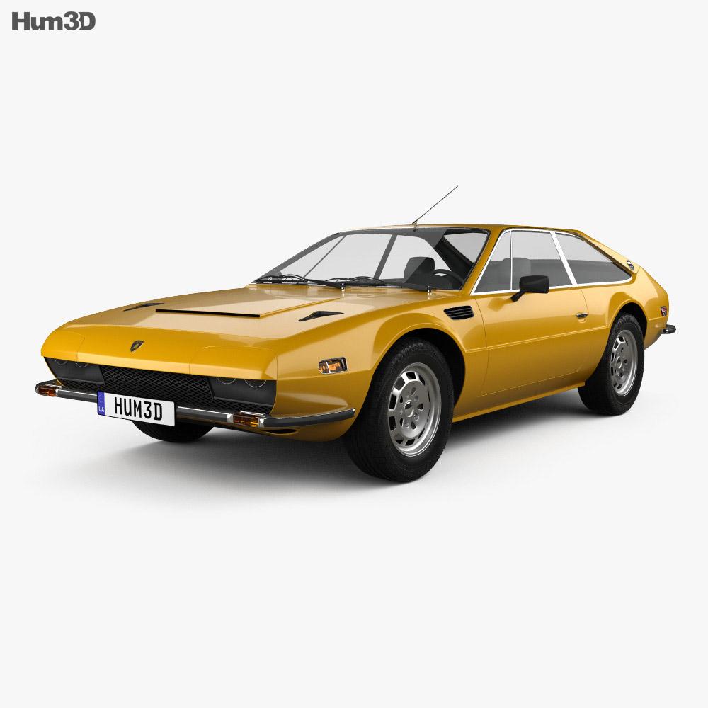 Lamborghini Jarama 400 GTS 1976 3d model