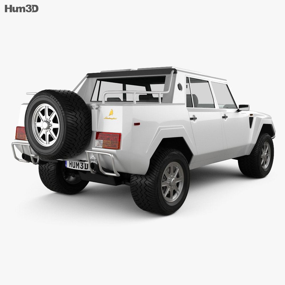 Lamborghini LM002 1986-1993 3d model