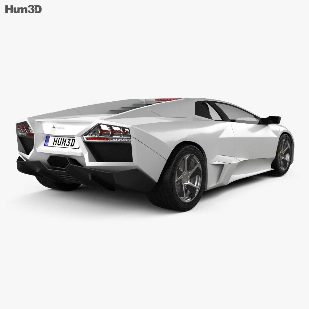 Lamborghini Reventon 2009 3d model