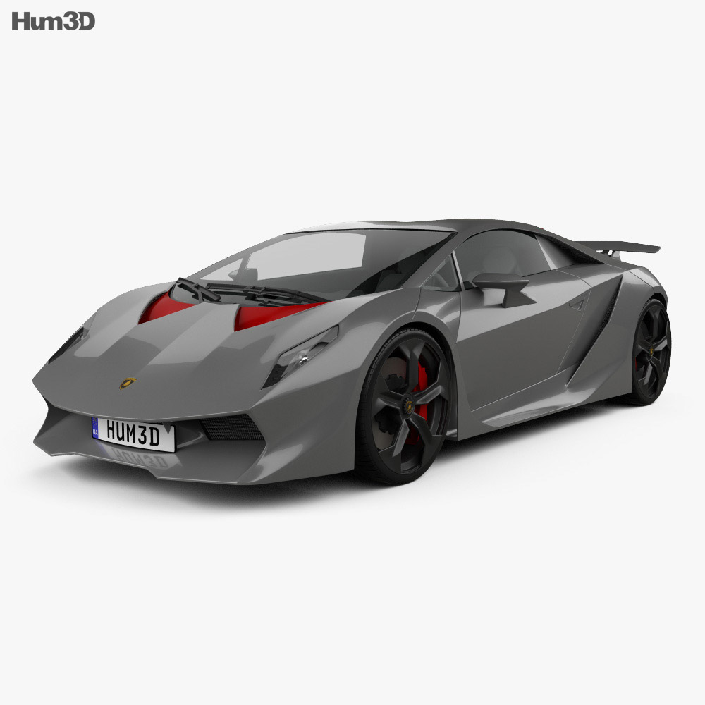 Lamborghini Sesto Elemento 2011 3d Model Vehicles On Hum3d