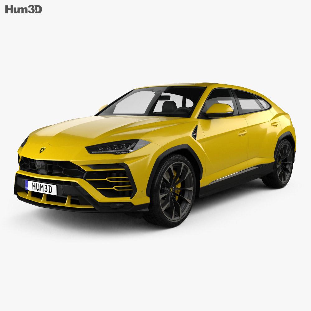 Lamborghini Urus: Lamborghini Urus 2019 3D Model