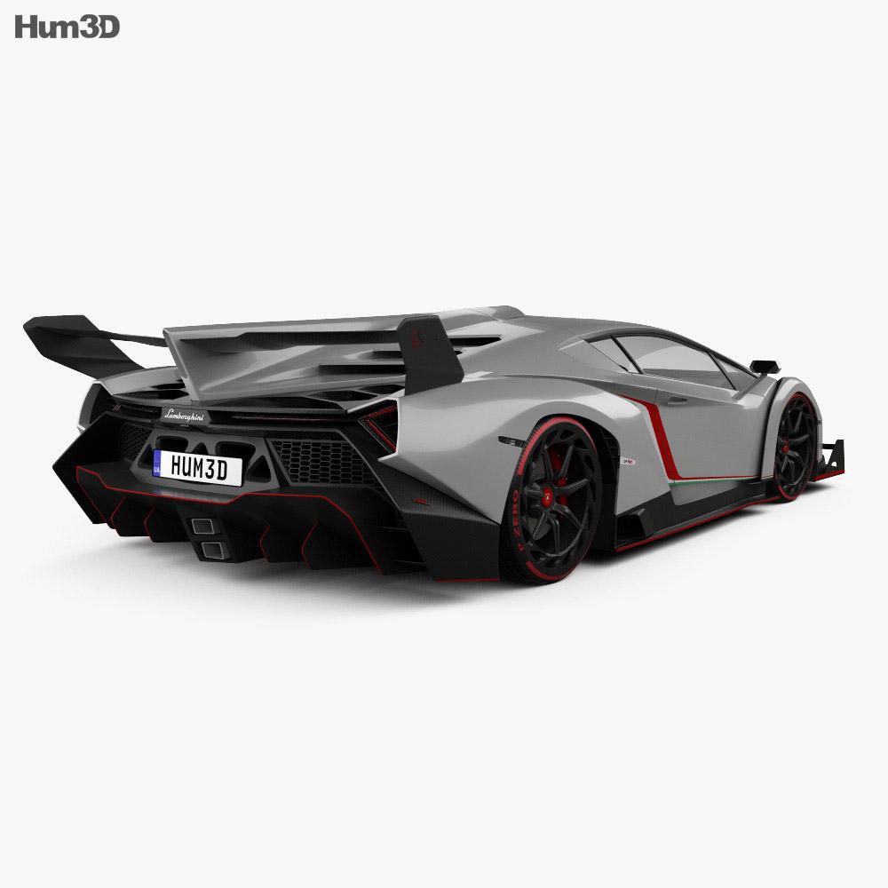 Lamborghini Veneno 2013 3d model