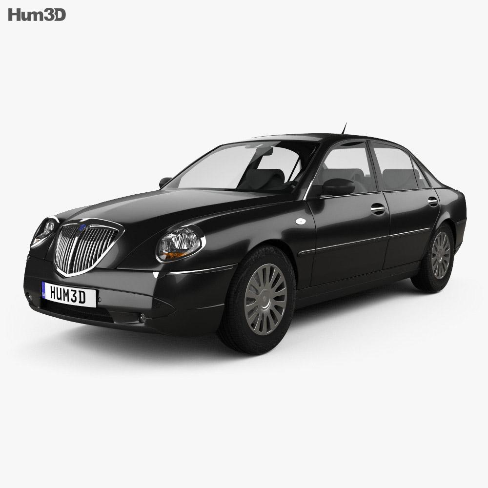 Lancia Thesis 2002 3d model