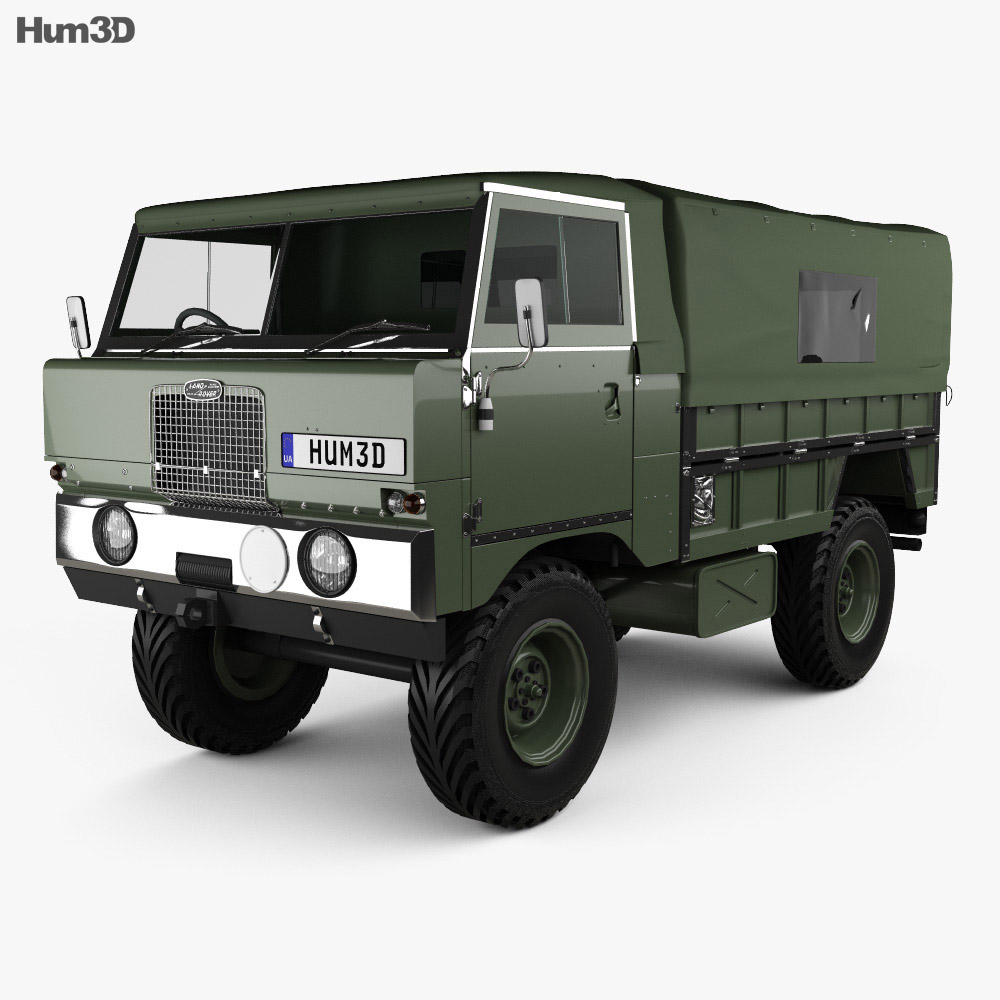 Land Rover 101 Forward Control 1972 3d model