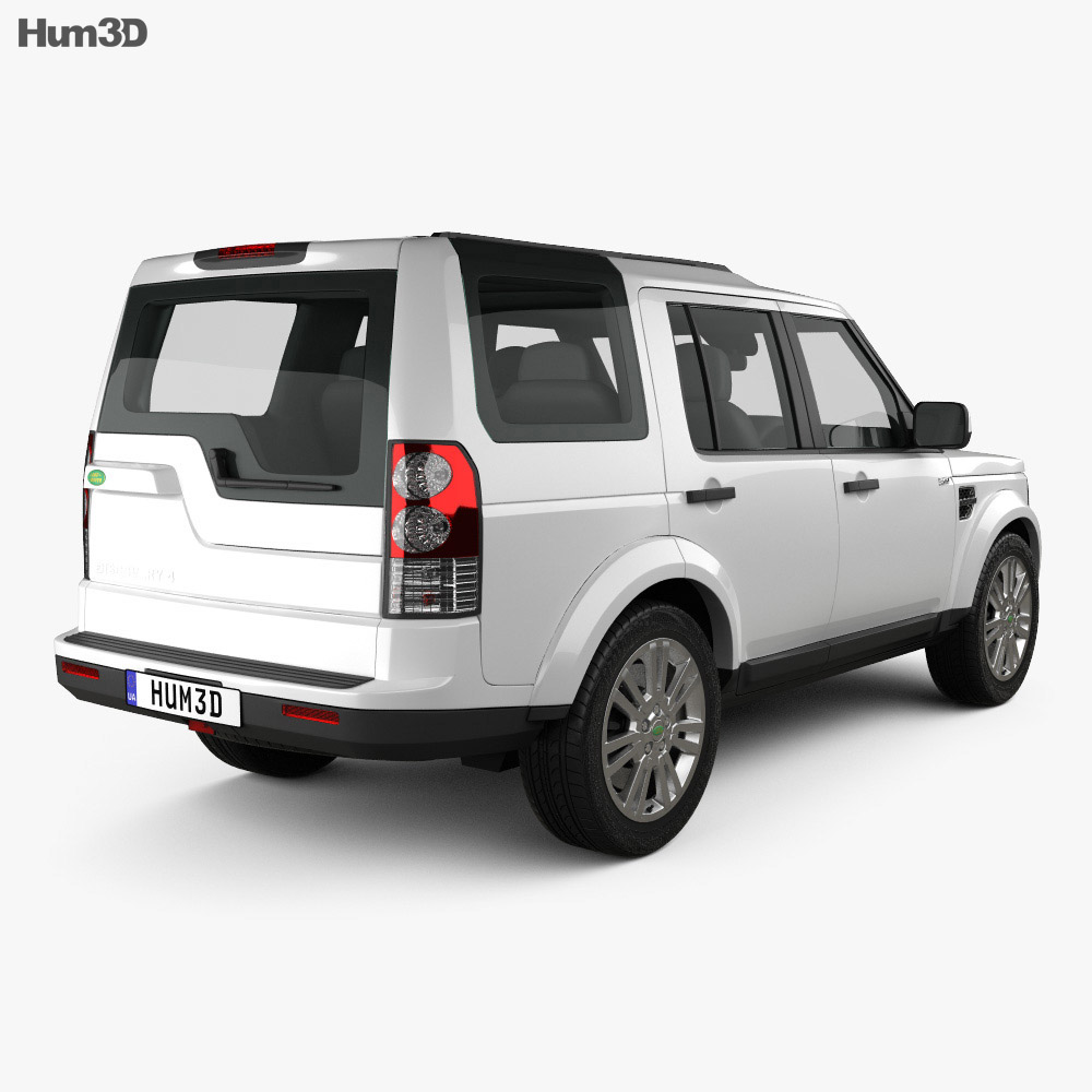 Land Rover Discovery 4 (LR4) 2012 3d model