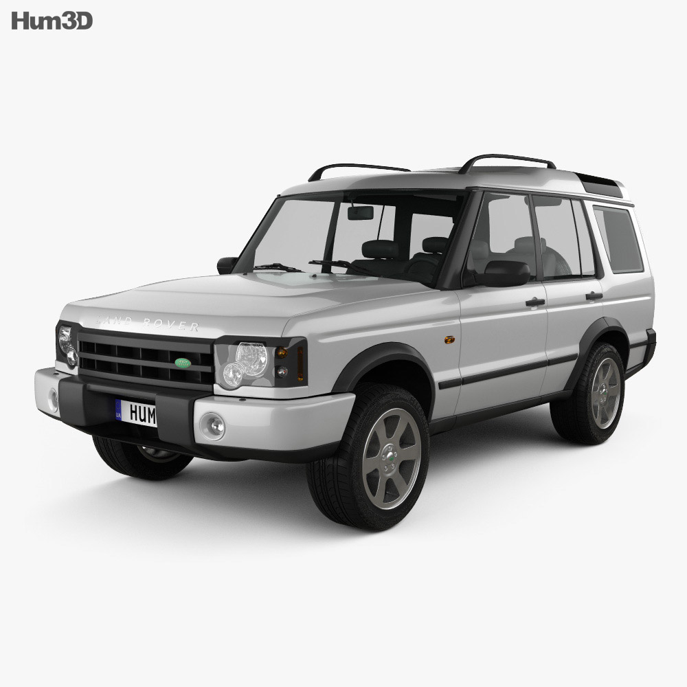 Land Rover Discovery 2003 3d model