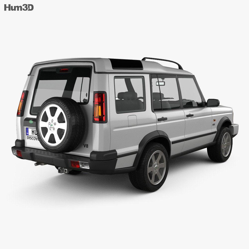 Sold Land Rover Discovery 3 Discov: Land Rover Discovery 2003 3D Model