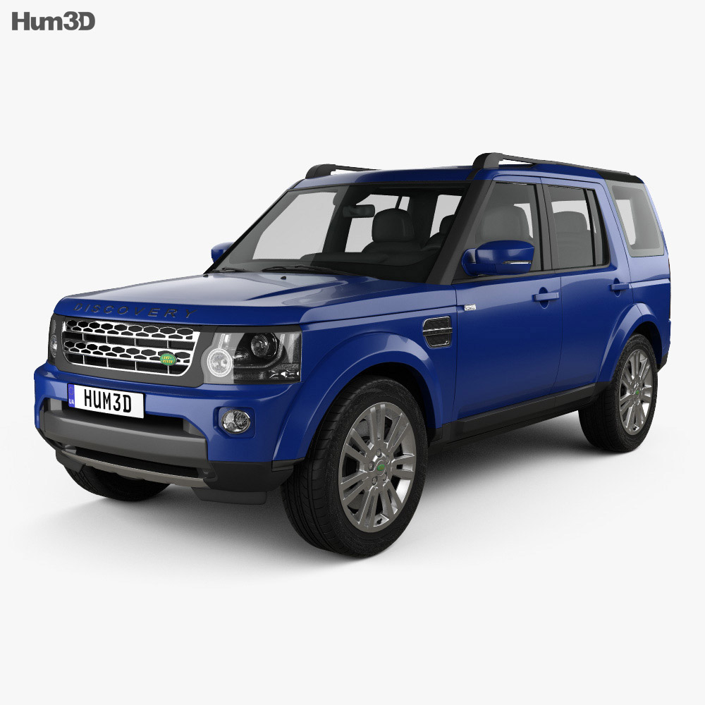 Land Rover Models >> Land Rover Discovery 2014 3d Model