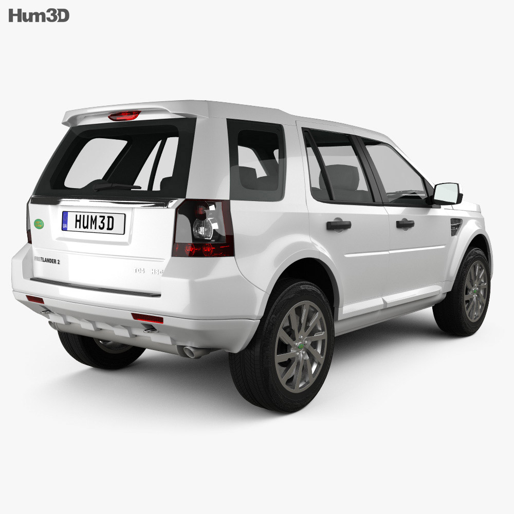 Land Rover Freelander 2 (LR2) 3d model