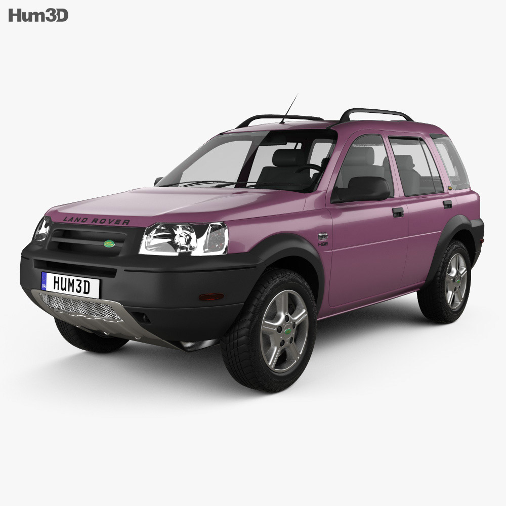 Land Rover Freelander 2 Lr2 3d Model: Land Rover Freelander 5-door 1997 3D Model