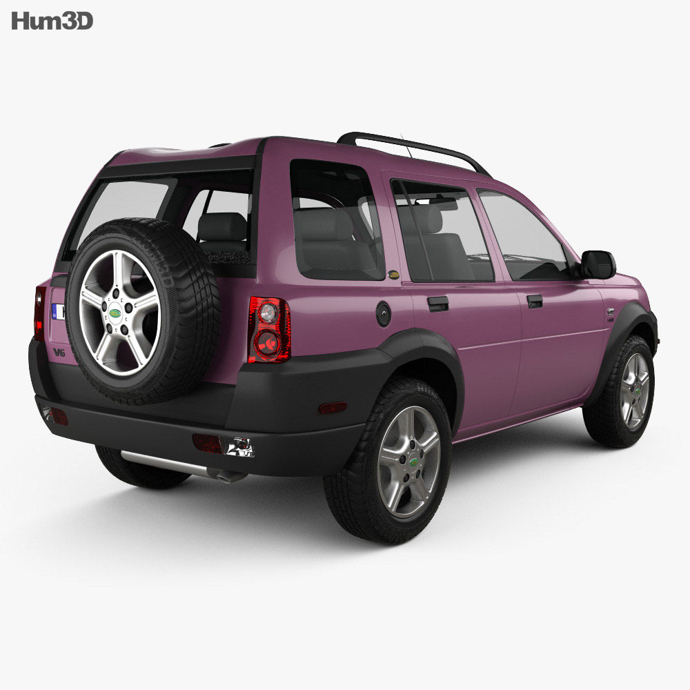 Land Rover Freelander 5-door 1997 3d model