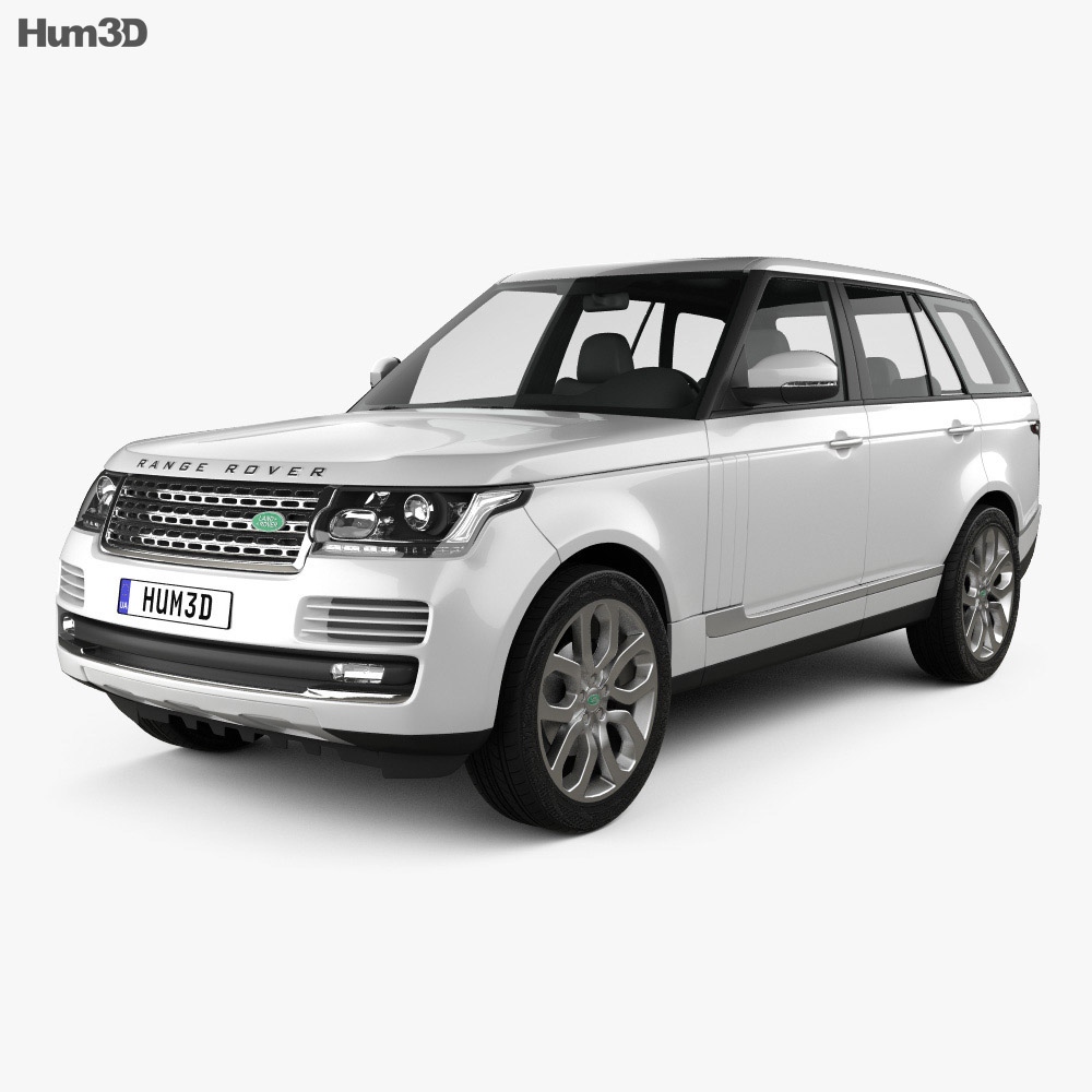 Range Rover (L405) 2014 3d model