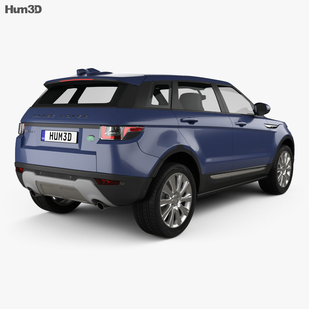 Land-Rover Range Rover Evoque SE 5-door 2015 3d model