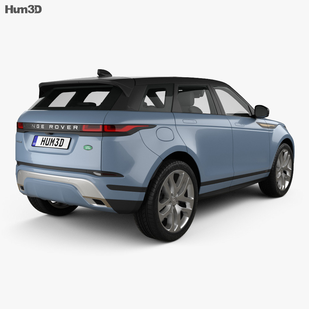 Land Rover Range Rover Evoque R-Dynamic First Edition 2019 3d model