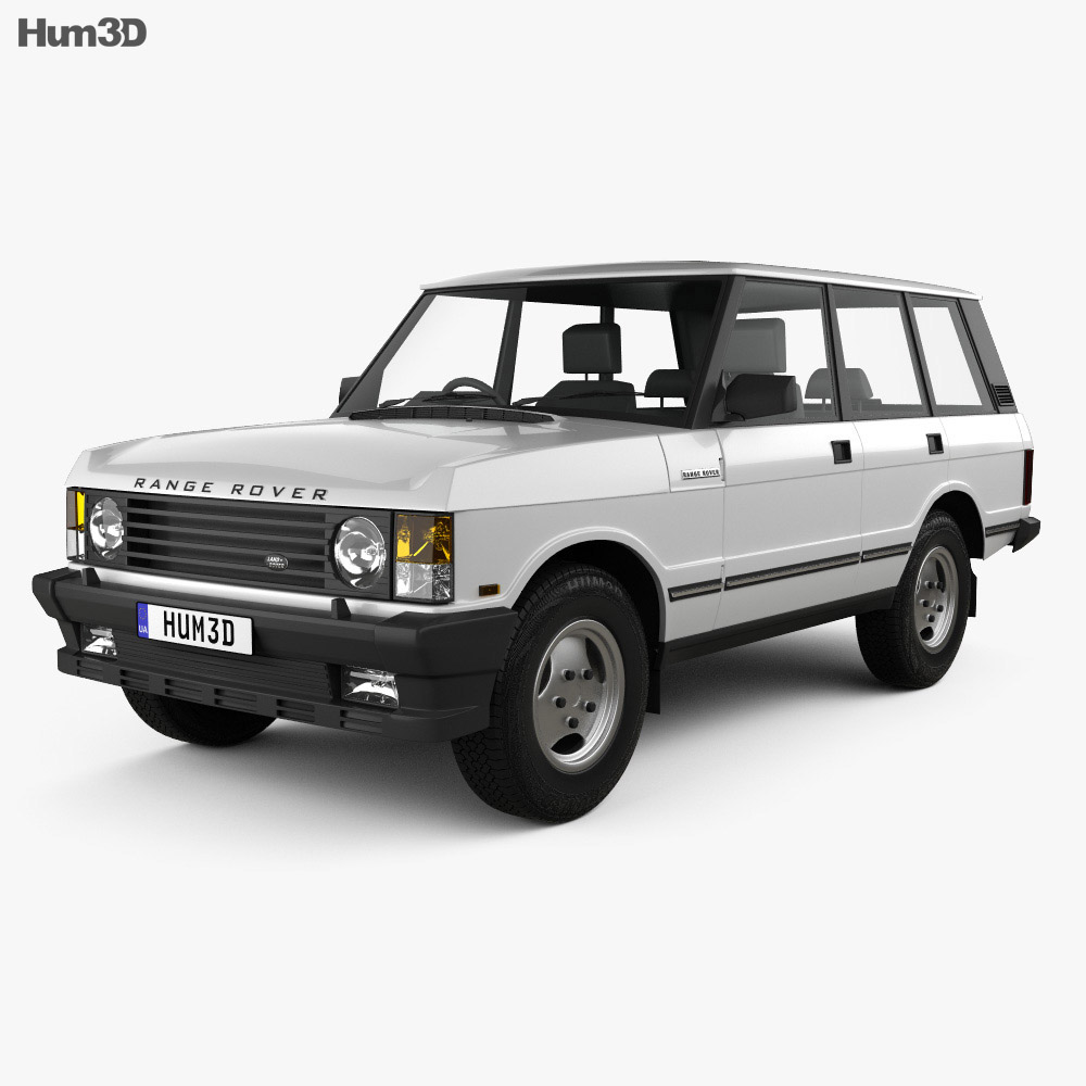 Land Rover Range Rover 1991 3d model
