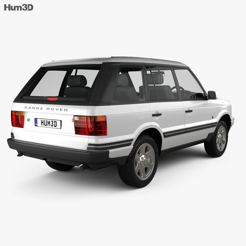 Land Rover Range Rover 1998 3d model