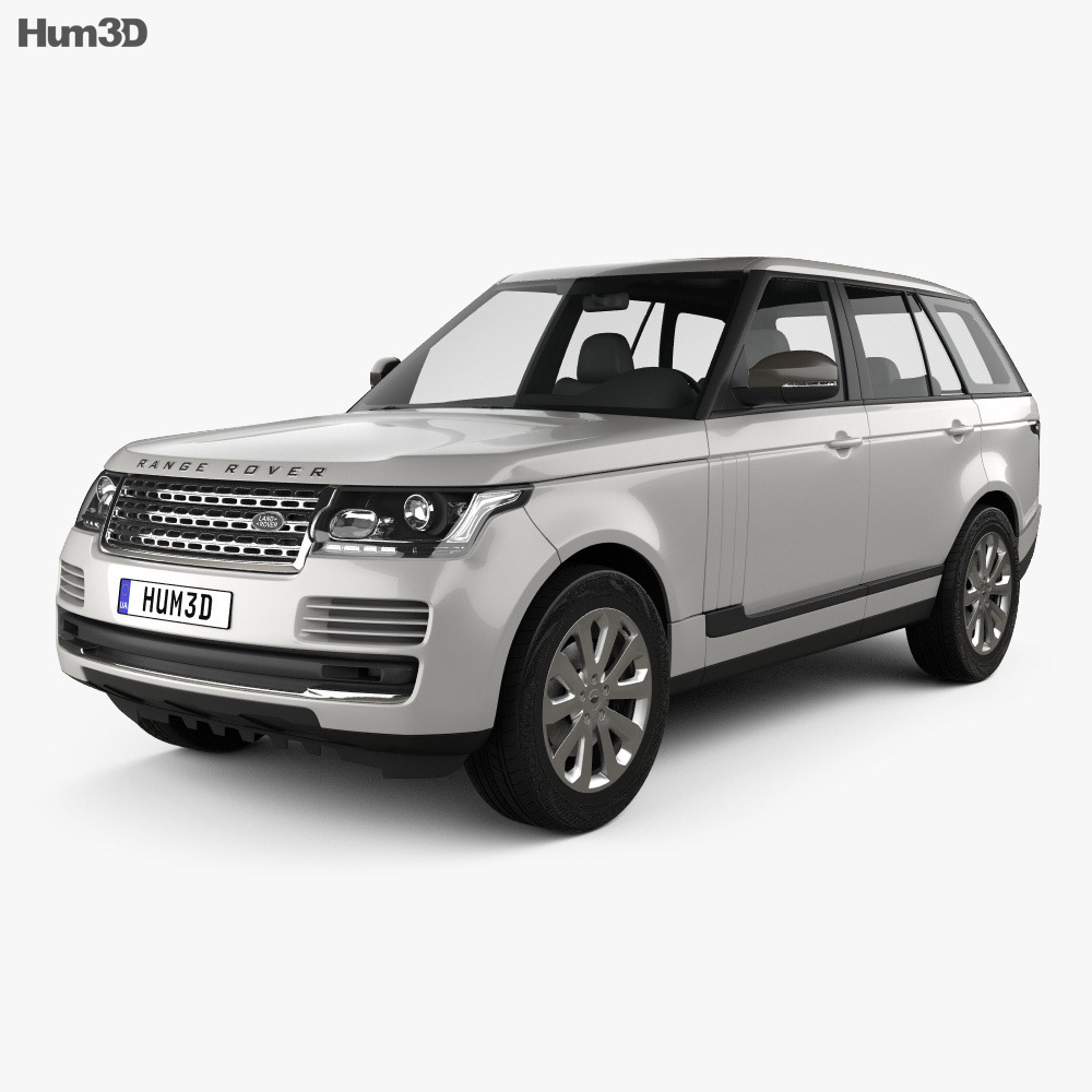 land rover range rover l405 vogue 2014 3d model hum3d. Black Bedroom Furniture Sets. Home Design Ideas