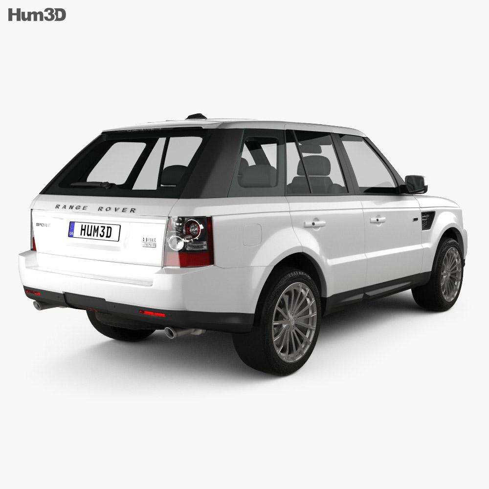 Land Rover Range Rover Sport 2009 3d model