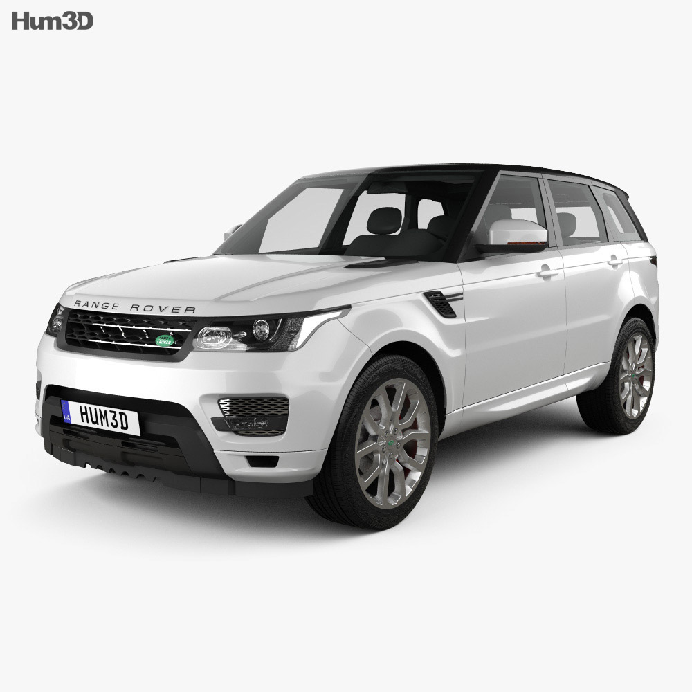 Land Rover 2012 Price: Land Rover Range Rover Sport Autobiography 2013 3D Model