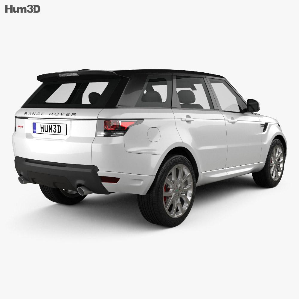 Land Rover Range Rover Sport Autobiography 2013 3d model