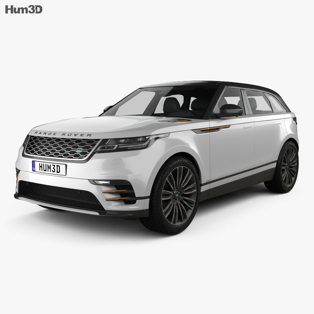 Land Rover Models >> Land Rover Range Rover Velar 2018 3d Model