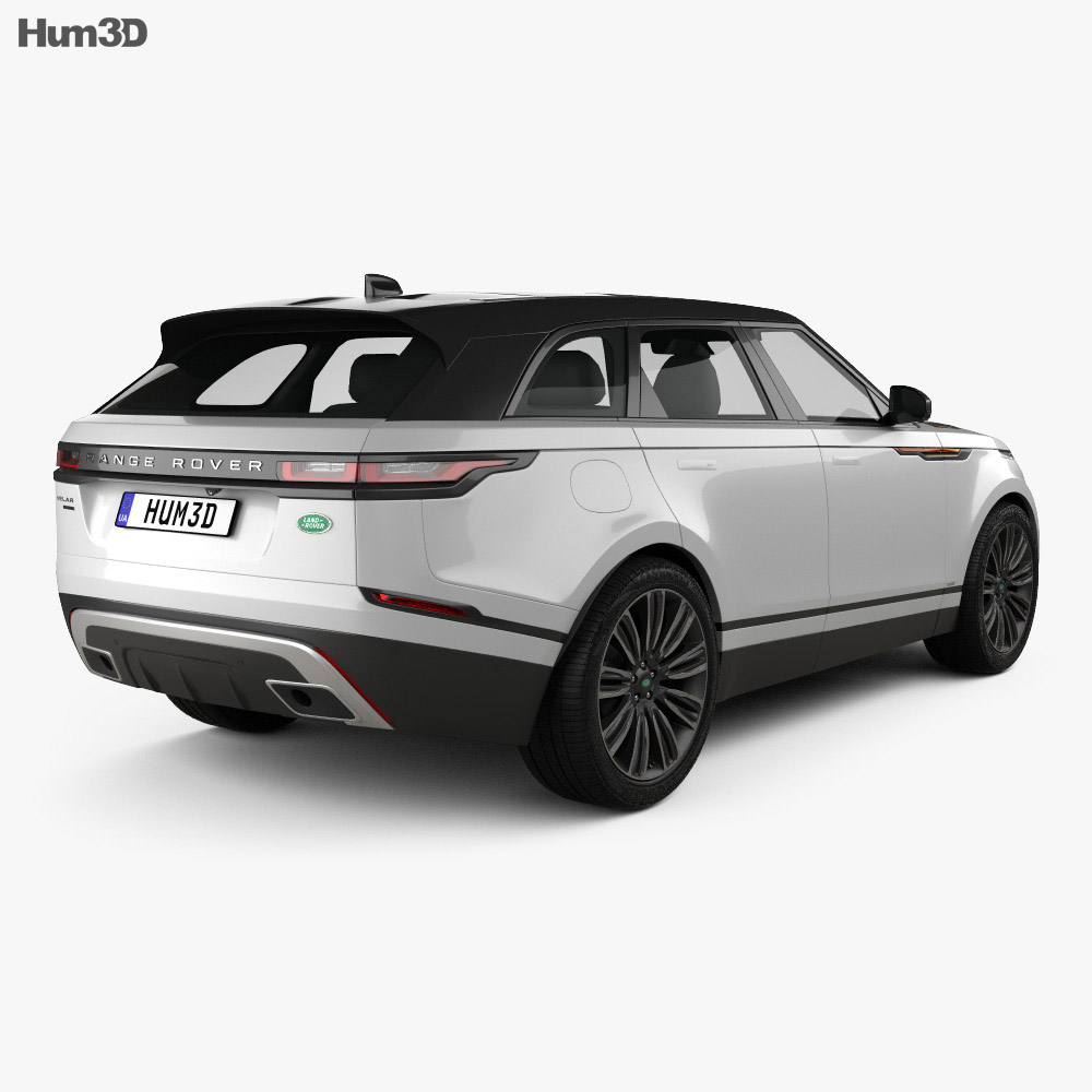 land rover range rover velar 2018 3d model hum3d. Black Bedroom Furniture Sets. Home Design Ideas