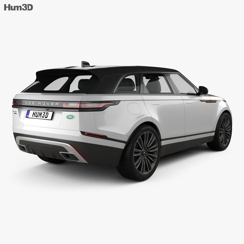 Range Rover Velar Black Rangerover Cars Car Black: Land Rover Range Rover Velar 2018 3D Model