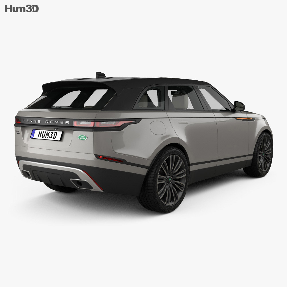 Land Rover Range Rover Velar First edition with HQ interior 2018 3d model