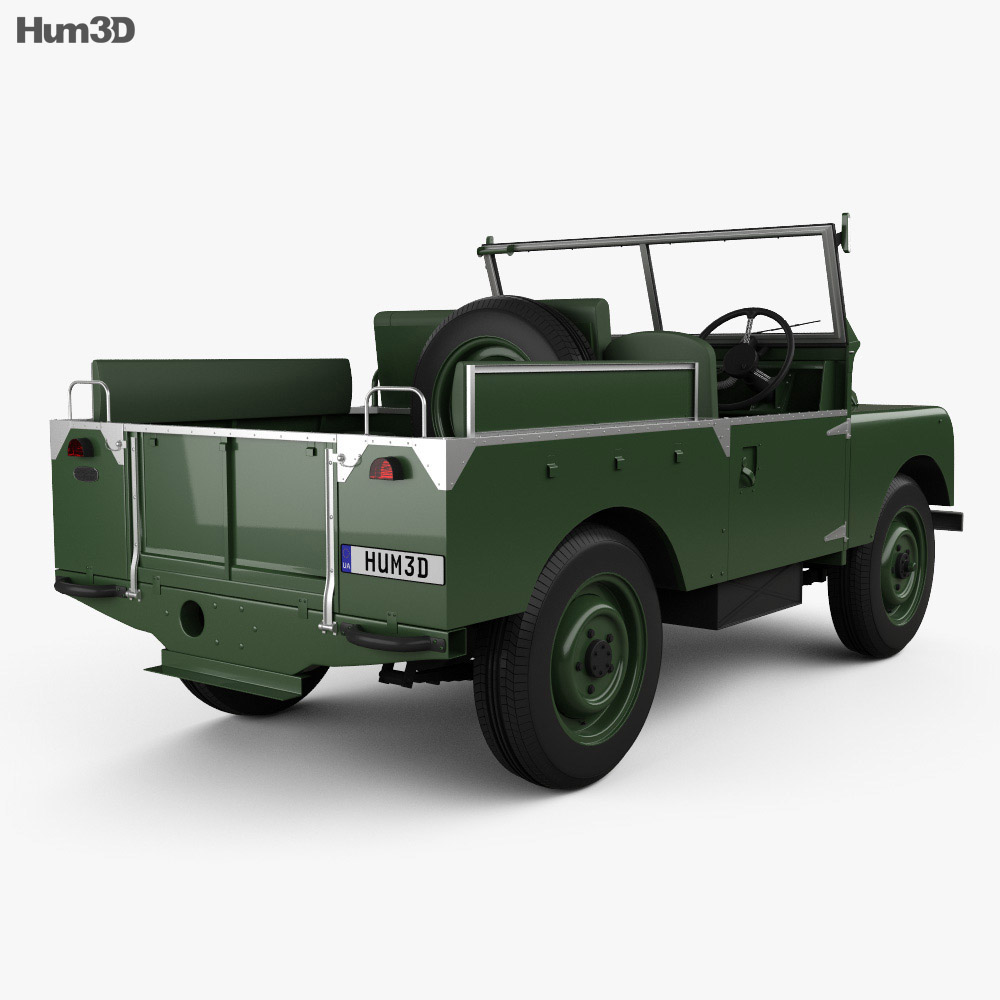 Land Rover Series I Churchill 1954 3d model