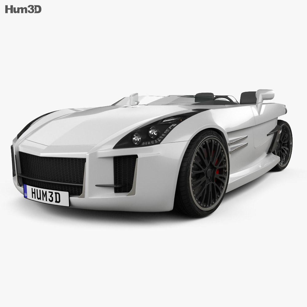 Lazareth Wazuma GT 2017 3d model