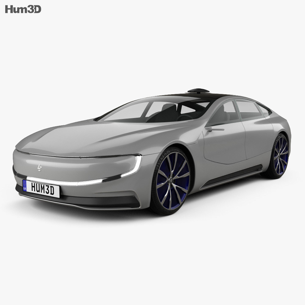 LeEco LeSee 2017 3d model