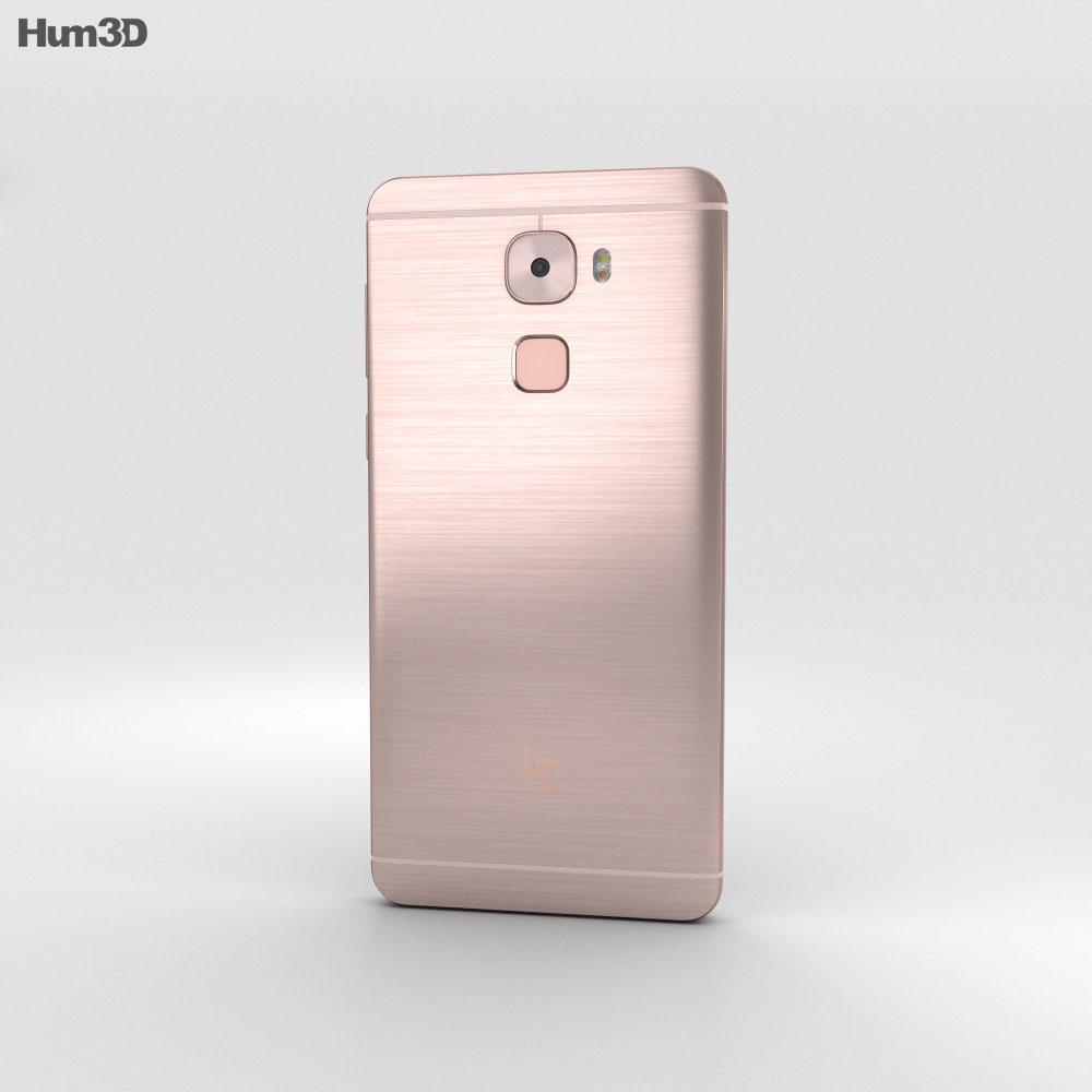 LeEco Le Pro 3 Rose Gold 3d model