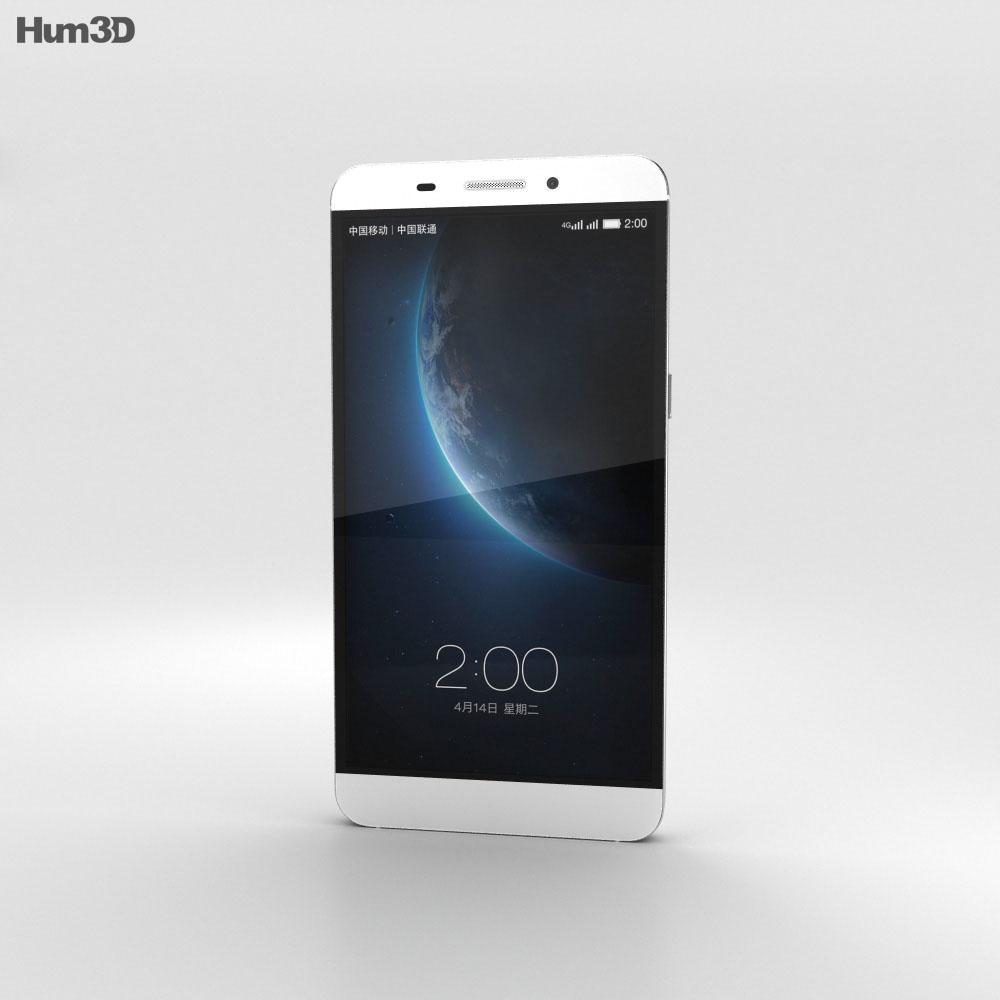 LeTV One White 3d model