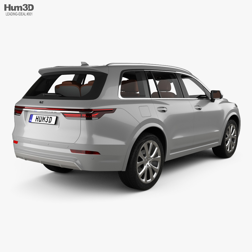 Leading Ideal One with HQ interior 2019 3d model