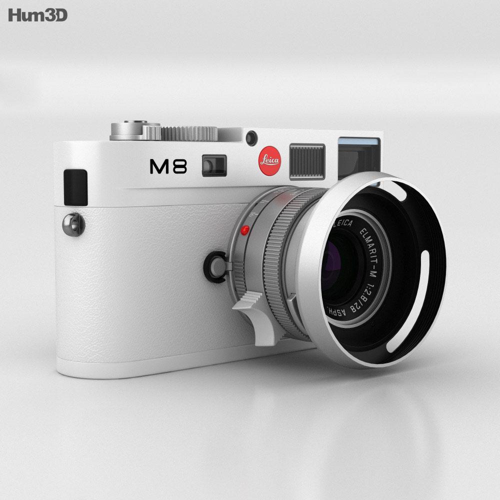 Leica M8 White 3d model