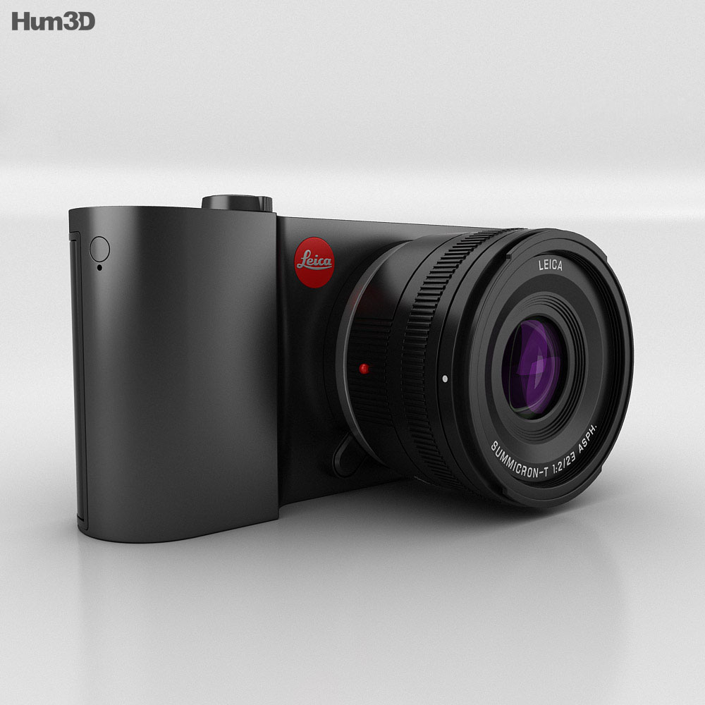 Leica T Black 3d model