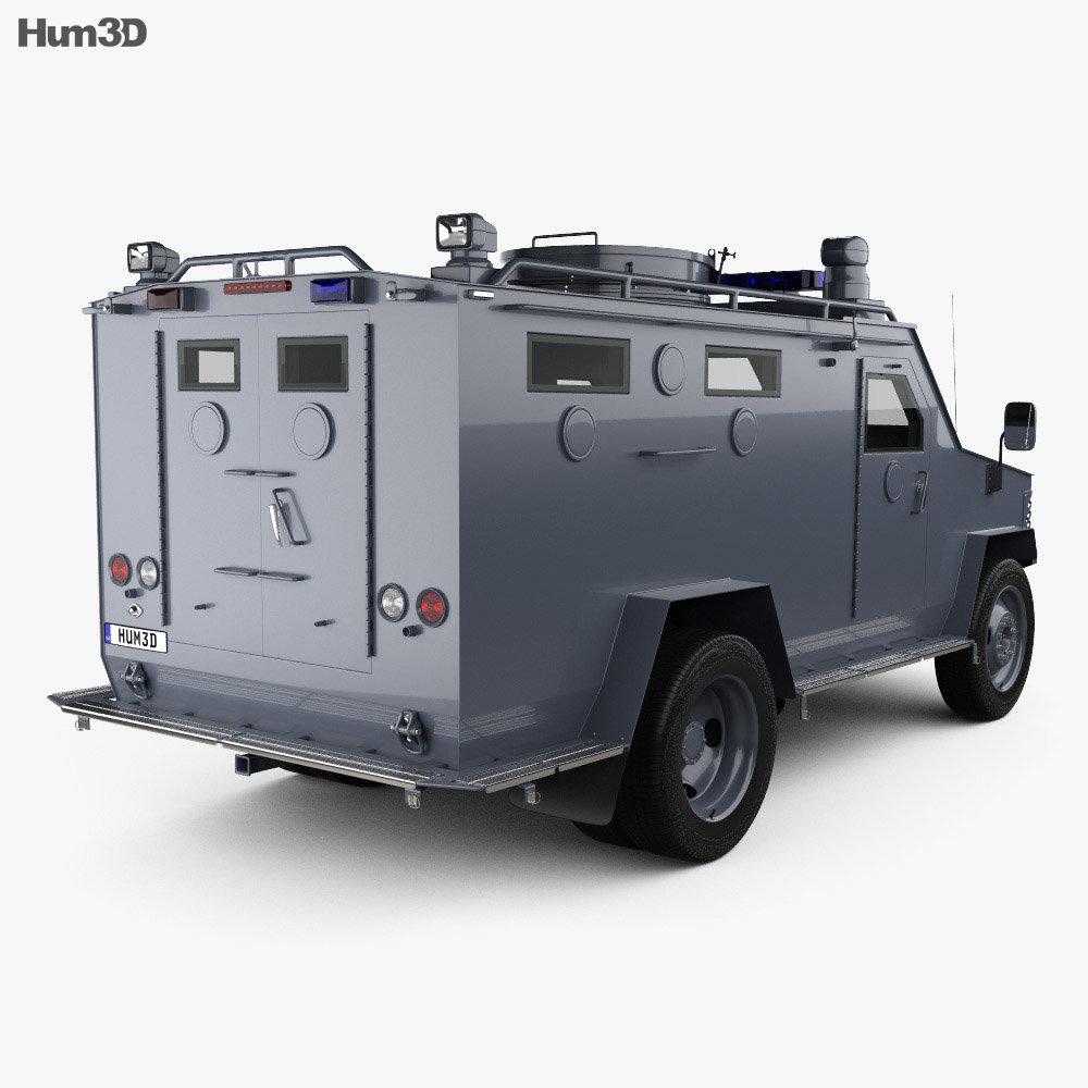 Lenco BearCat 2005 3d model