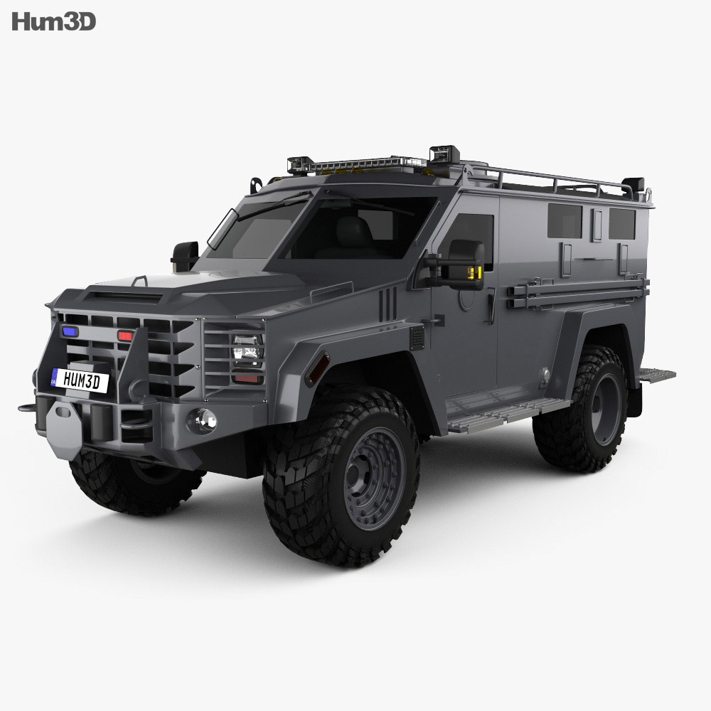 Lenco BearCat G3 2017 3d model
