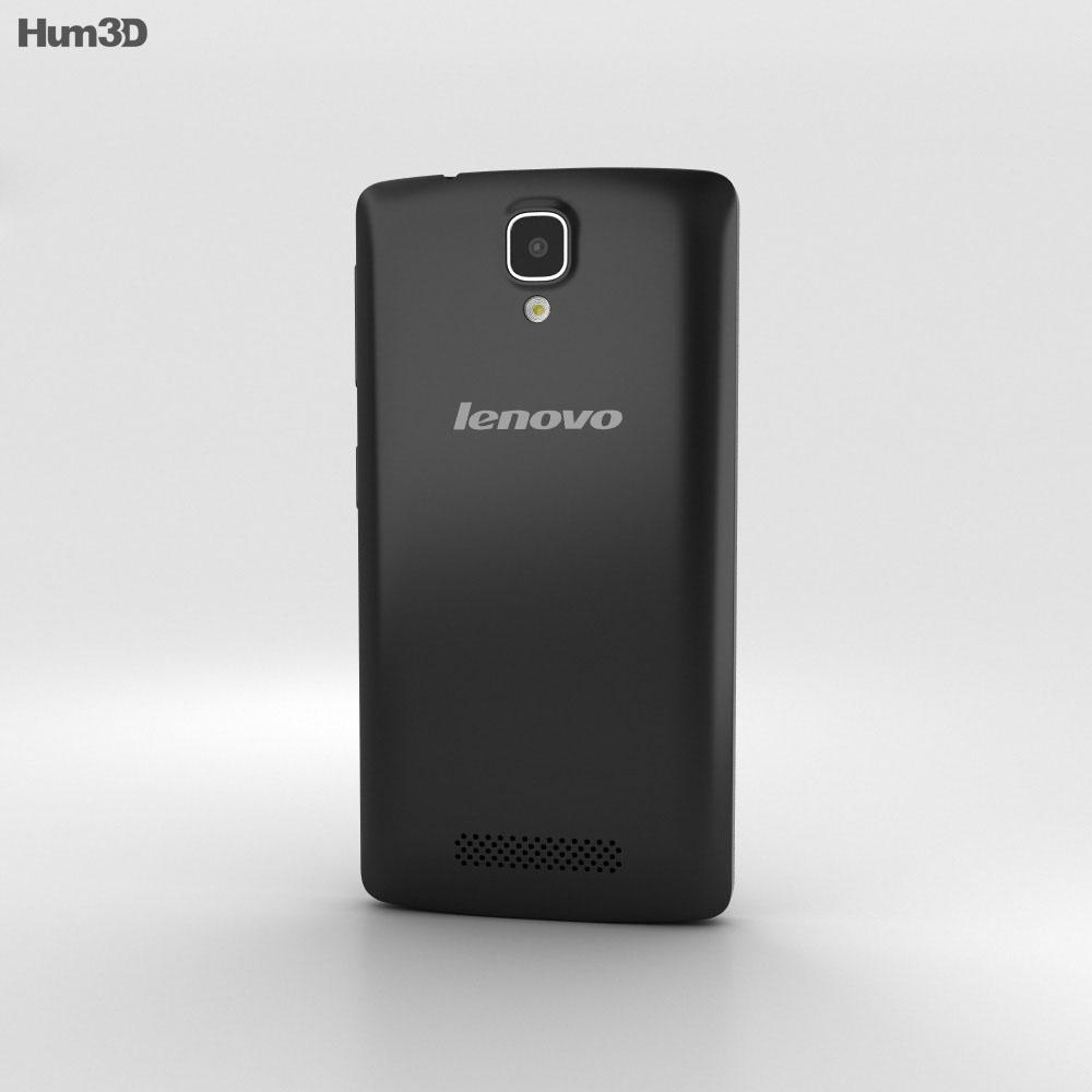 Lenovo A1000 Onyx Black 3d model