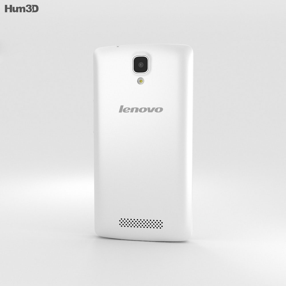 Lenovo A1000 Pearl White 3d model