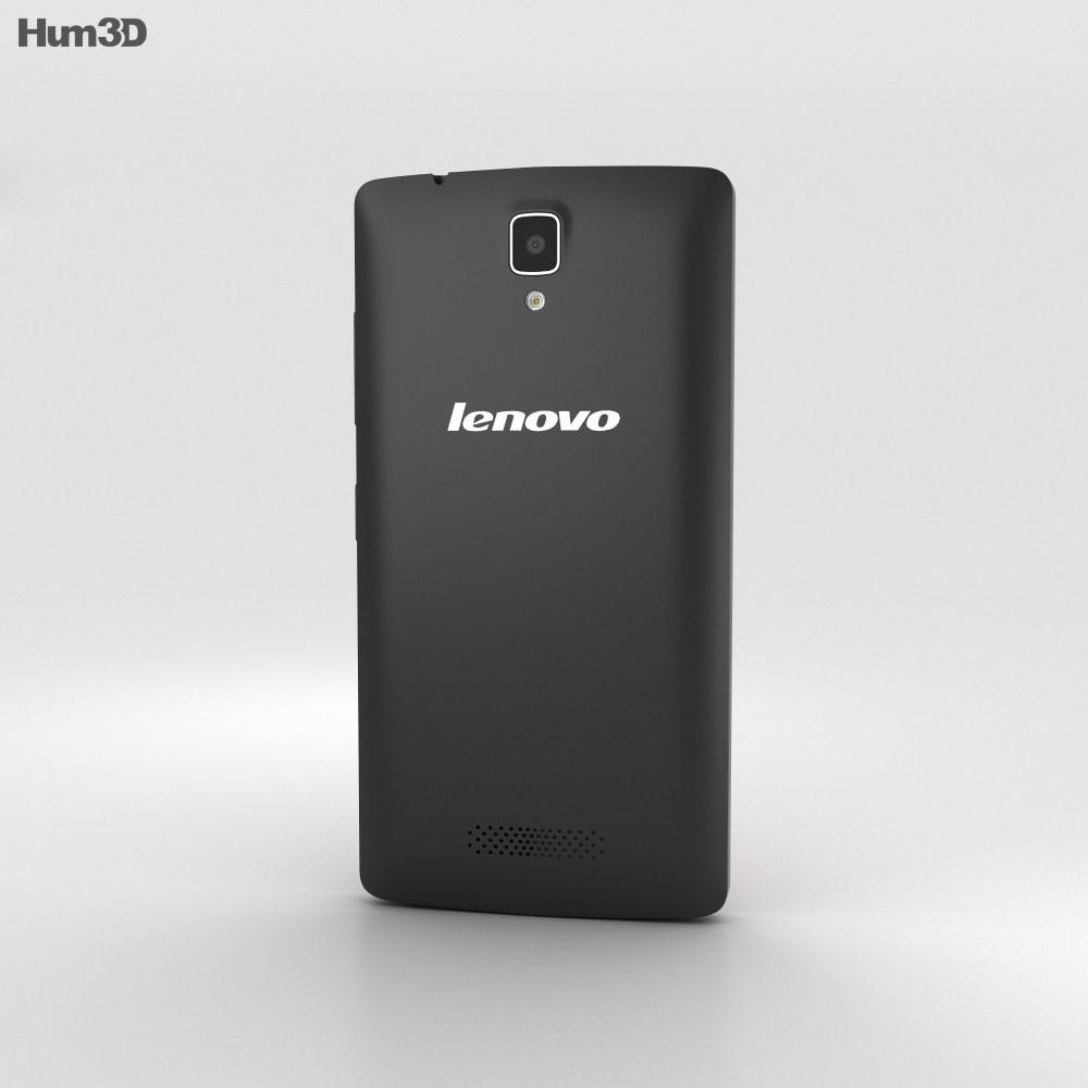 Lenovo A2010 Black 3d model