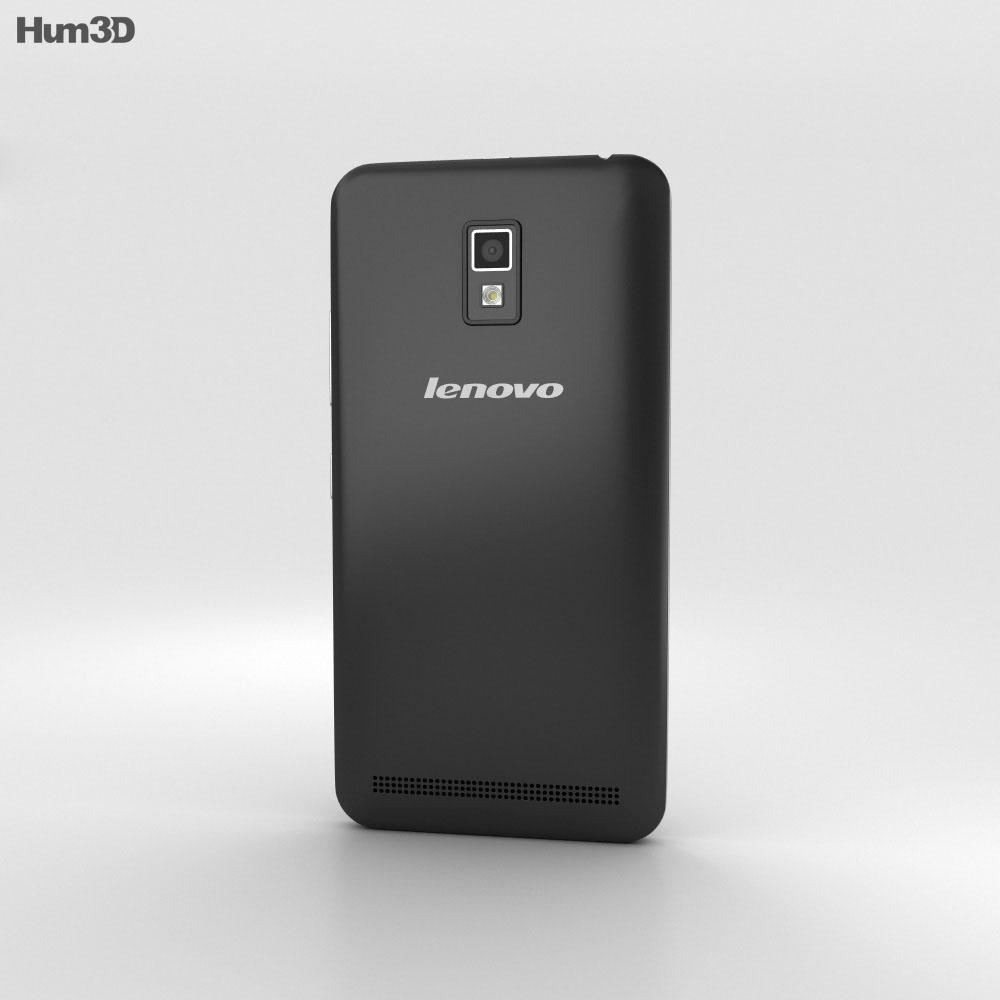 Lenovo A3690 Black 3d model