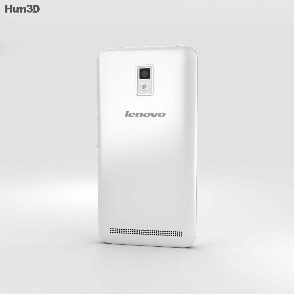Lenovo A3690 White 3d model