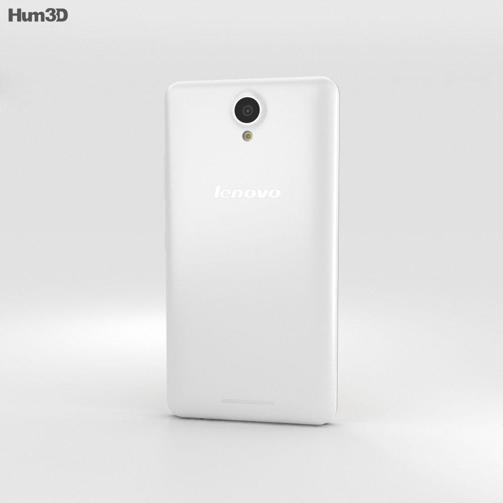 Lenovo A5000 White 3d model