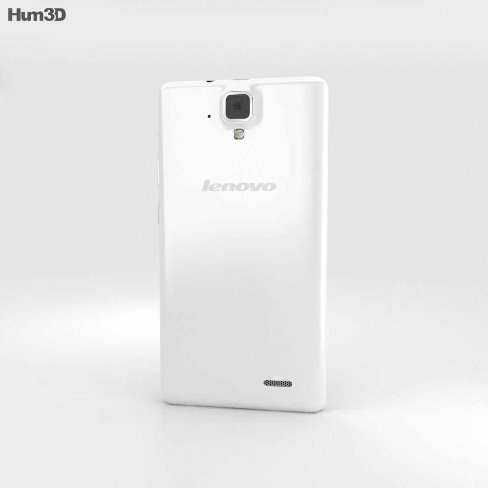 Lenovo A536 White 3d model