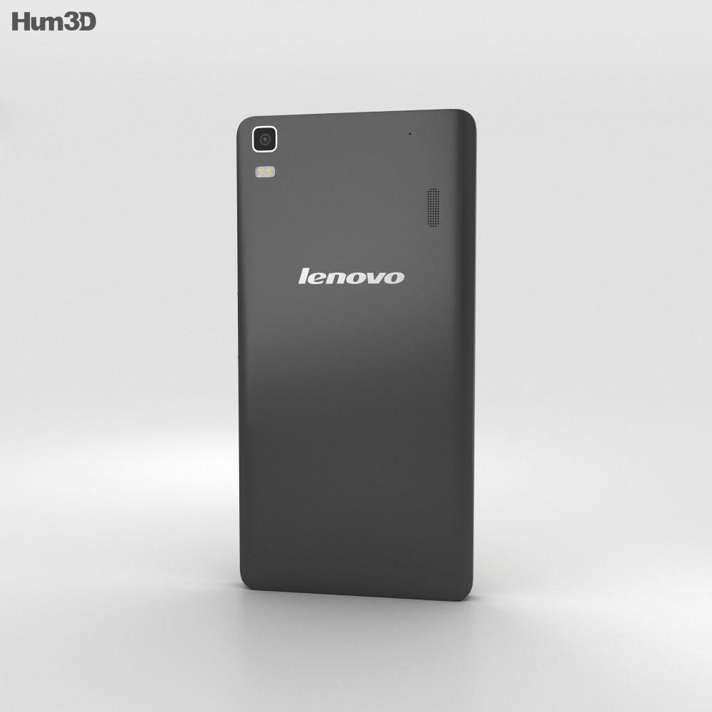 Lenovo A7000 Onyx Black 3d model