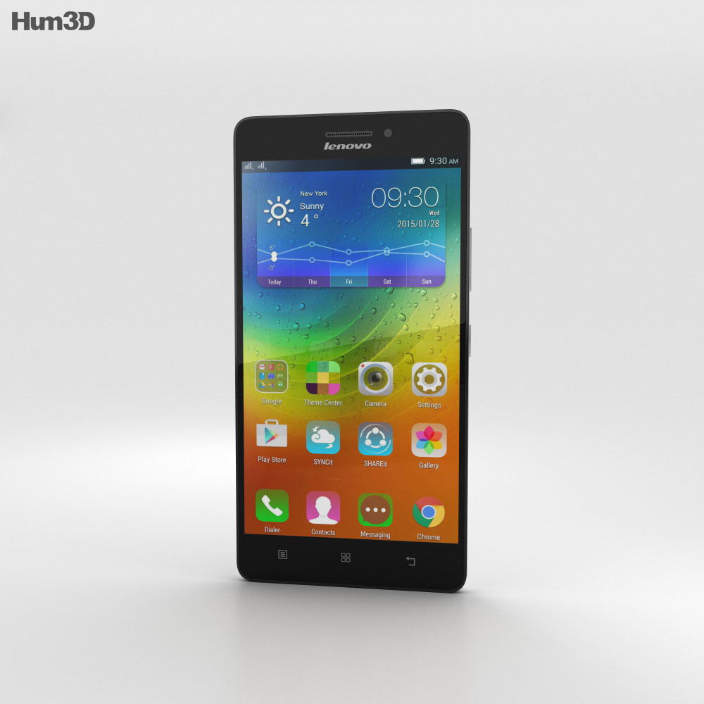 Lenovo A7000 Pearl White 3d model