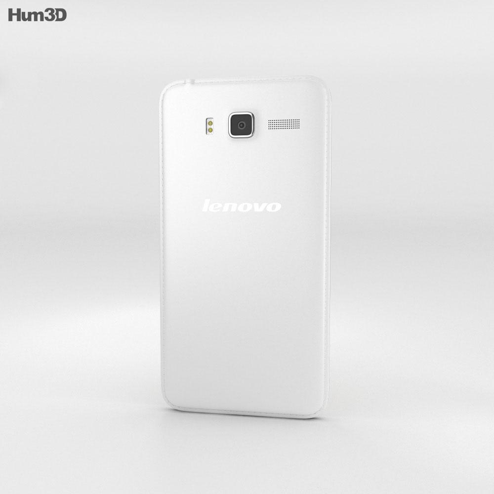 Lenovo A916 White 3d model