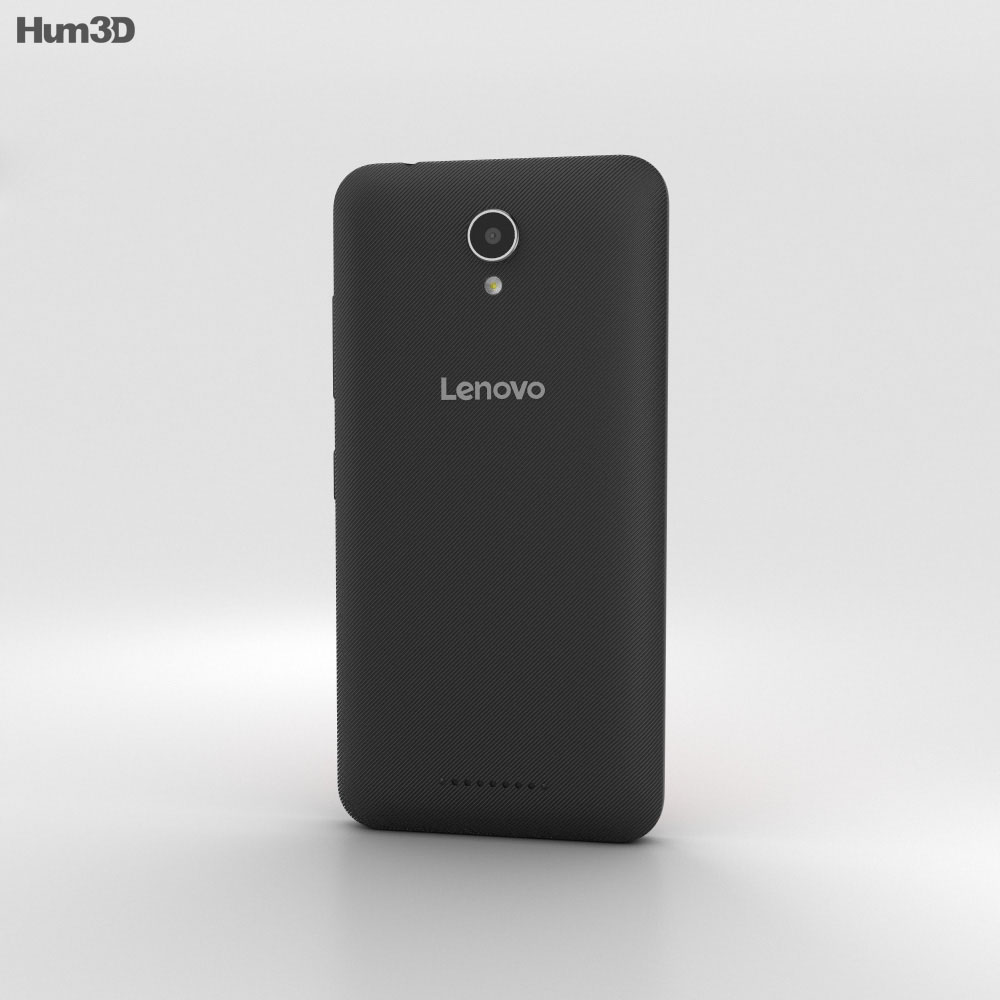 Lenovo A Plus Onyx Black 3d model